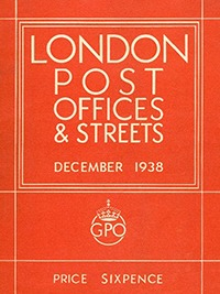 London Post Offices and Streets