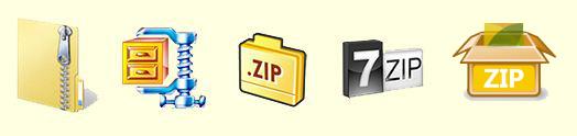 Zip Icons